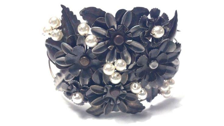 Metal Art Bracelet! - Jewelry creation by kimberly newman