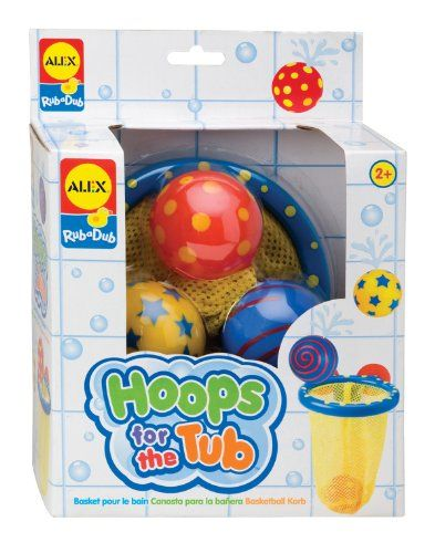 My three year old needs some cool bath toys. I like this rad little basketball hoop for the tub. #BestToys Best Christmas Toys and Gifts for Boys 3 Years Old - The Perfect Gift Store