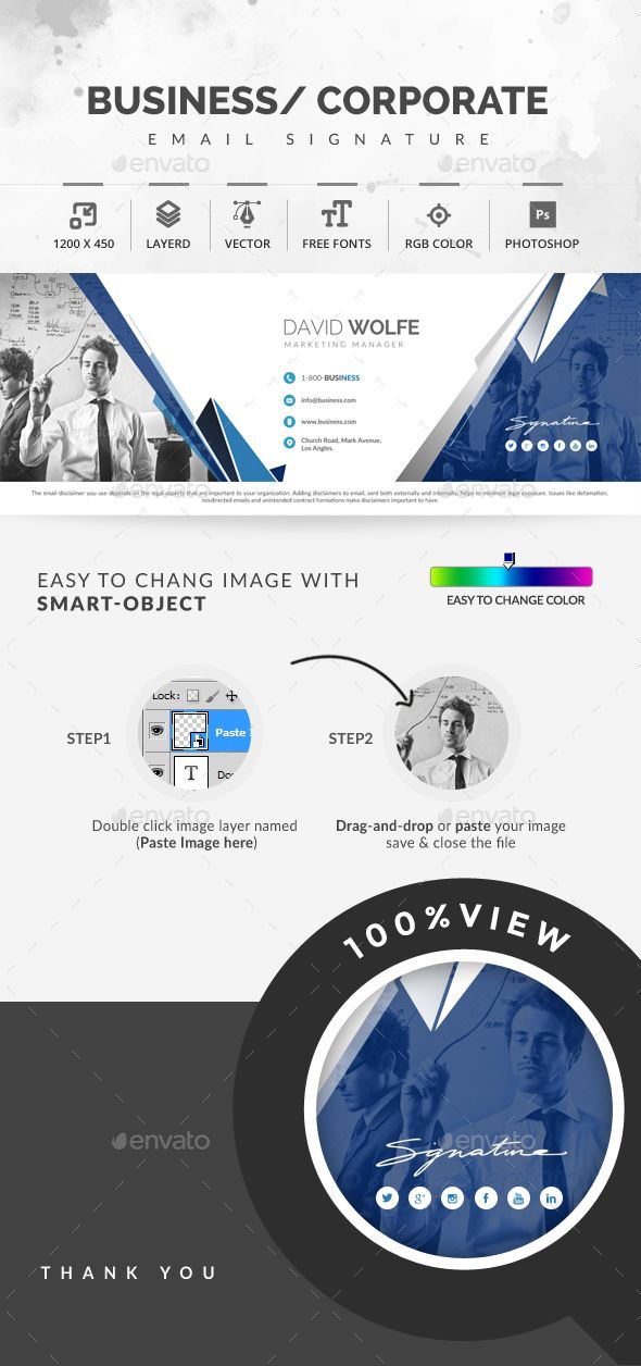 The 25+ best Email signature templates ideas on Pinterest Email - sample email signature