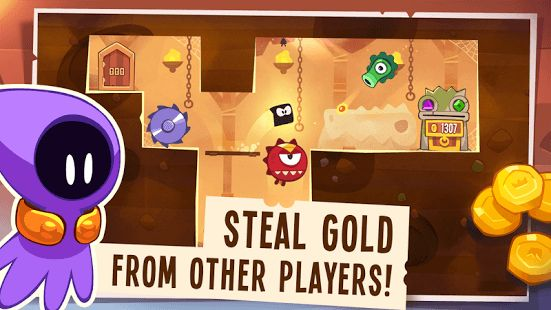Introducing King of Thieves, the new game from the makers of award-winning Cut the Rope, loved by millions of players worldwide!