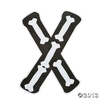 """""""X Is For X-Rays"""" Letter X Craft Kit"""