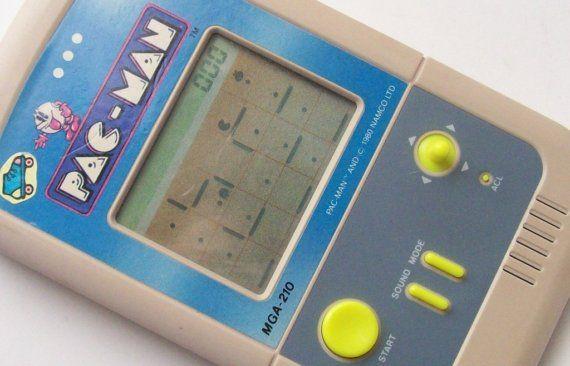 Old School PAC-MAN Handheld Video Game