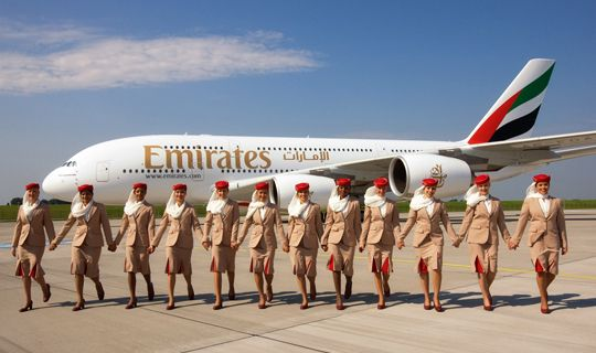 inside aircraft cabin photos | First Airbus A380 Enters Emirates Fleet | Emirates