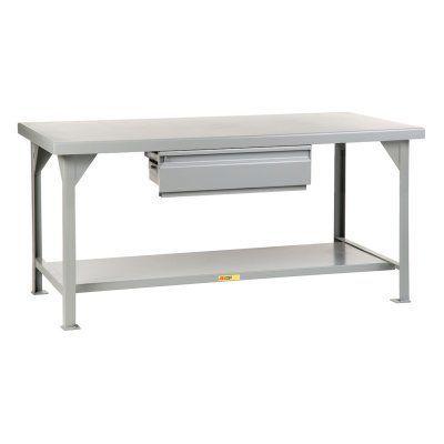 Little Giant Heavy-Duty Workbench with Drawer - WW3672-HD, BEM188-5