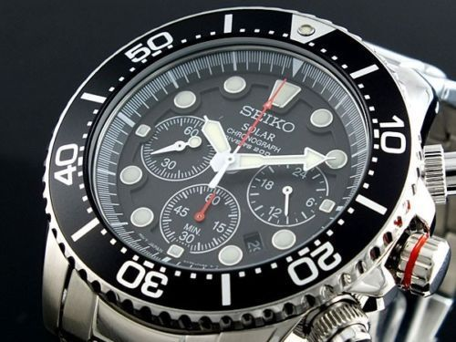BEST QUALITY WATCHES - Seiko Solar Men's Chronograph Diver's SSC015P1, £209.99 (http://www.bestqualitywatches.co.uk/seiko-solar-mens-chronograph-divers-ssc015p1/)