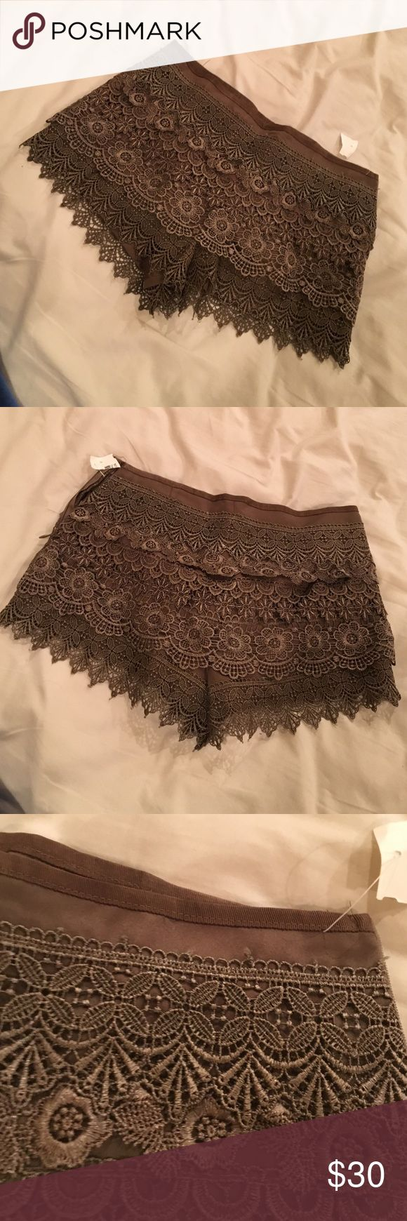 Brown shorts Size S, bought at a boutique Shorts