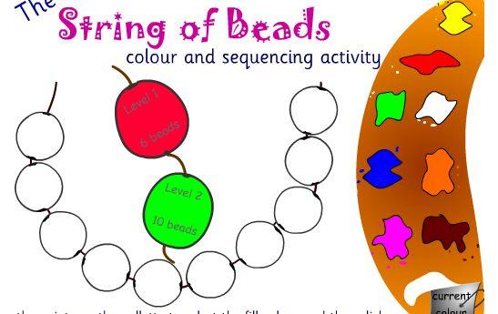 Prep Wonderful: patterns using beads