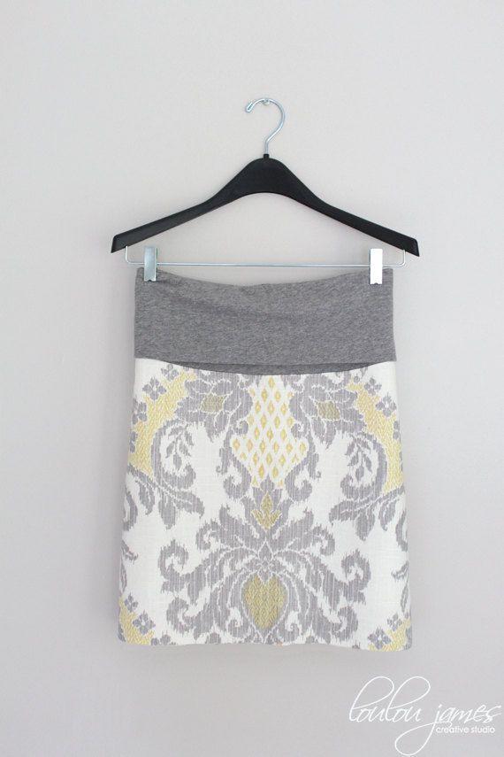 Meg maternity pencil skirt PDF pattern