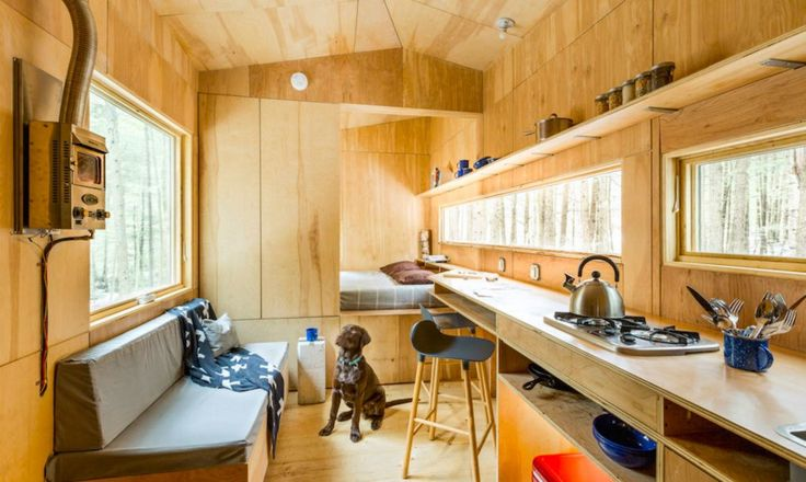 """harvard-student-startup-lets-you-test-drive-tiny-house-living-for-just-99-a-night --  """"Olivia"""""""