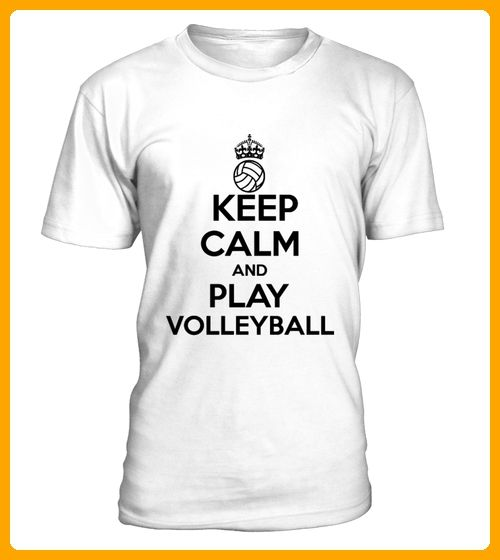 KEEP CALM AND PLAY VOLLEYBALL - Volleyball shirts (*Partner-Link)