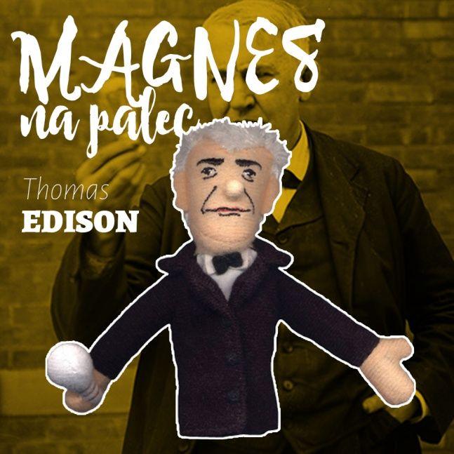 Magnes kukiełka Thomas Edison