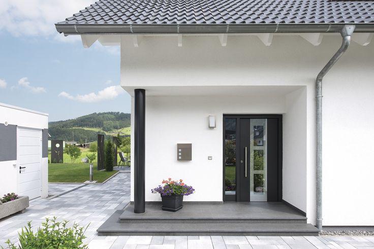 #weberhaus #Fertighaus #holzbauweise #Hauseingang #Haustür