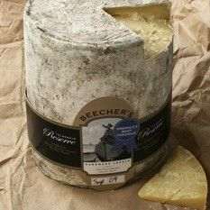 Flagship Reserve is a special version of Beecher's signature Flagship cheese. It is made only on days when the milk composition is just right. The last curds on the table from these makes are used to produce Flagship Reserve truckles as it allows for slightly lower moisture, higher salt content and thus a richer taste and texture while maintaining a clean, creamy finish.
