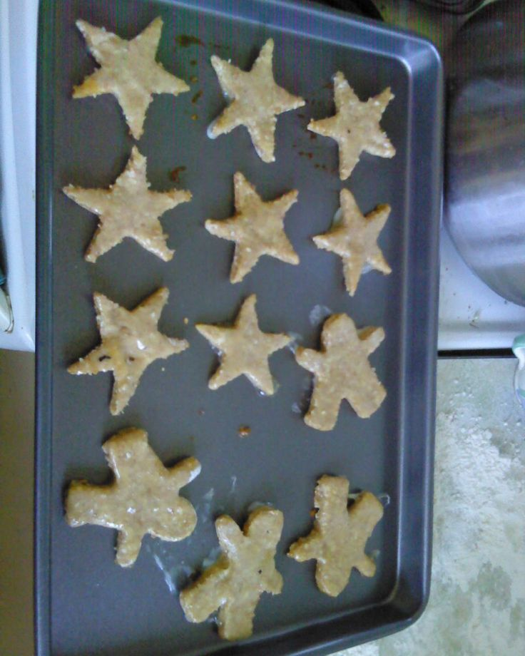 my dogs love these homemade dog biscuits