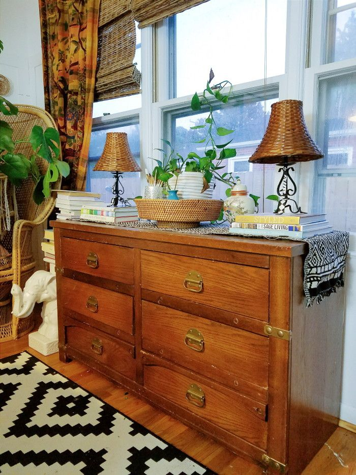 Whats On My Dining Room Buffet Its A Dresser