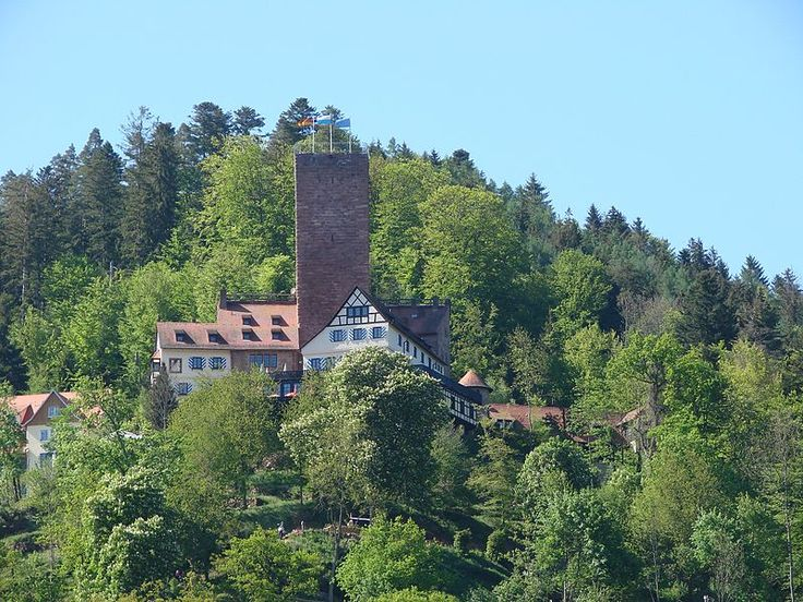 Burg Liebenzell (Bad Liebenzell, Nagoldtal, Landkreis Calw)