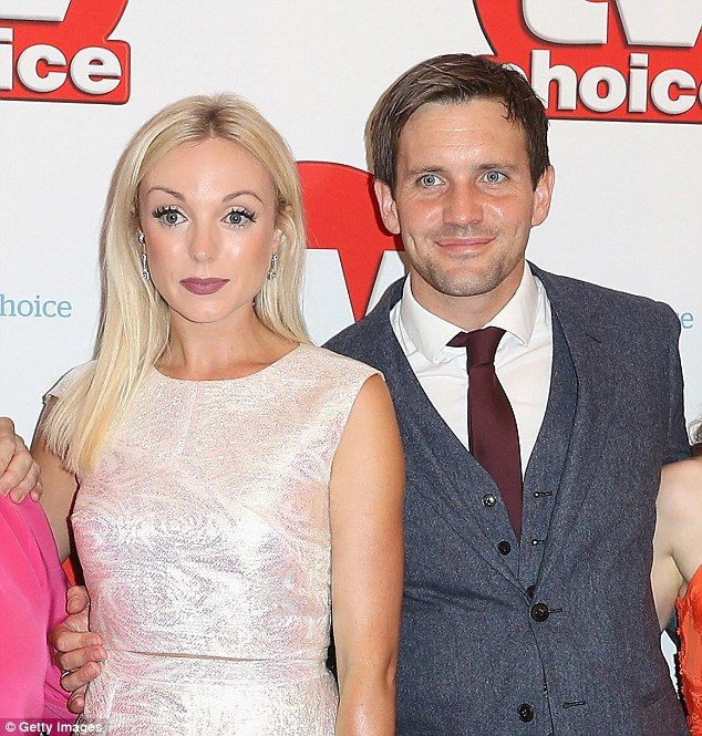 Perplexing:Jack Ashton opened up about his relationship with co-star Helen George as he revealed it was 'confusing' dating her after their characters split on the show