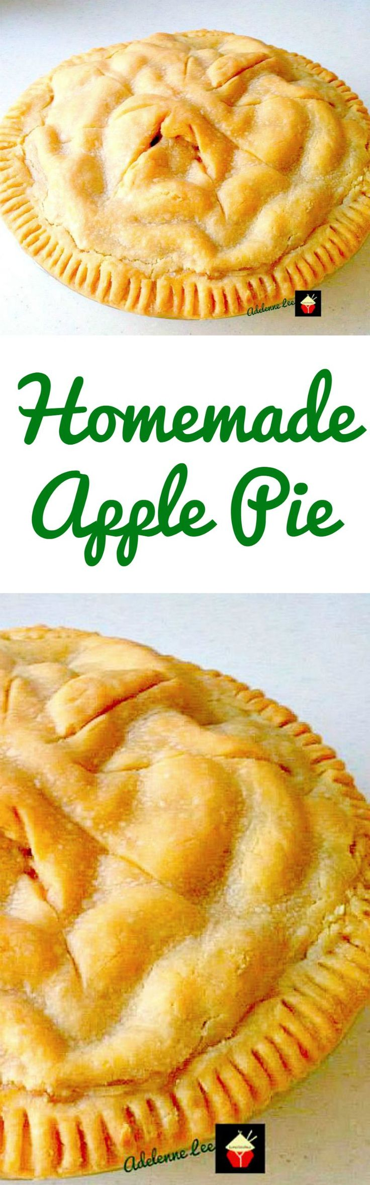 Easy Apple Pie from Scratch. A delicious pie loaded with apples, serve warm or cold, with whipped cream or ice cream. Yummy!