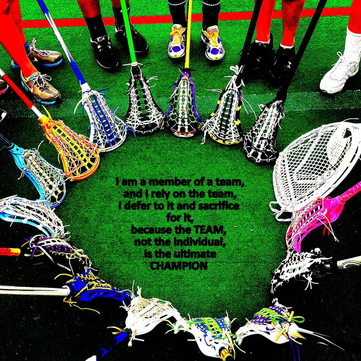What it means to be part of a team Lacrosse