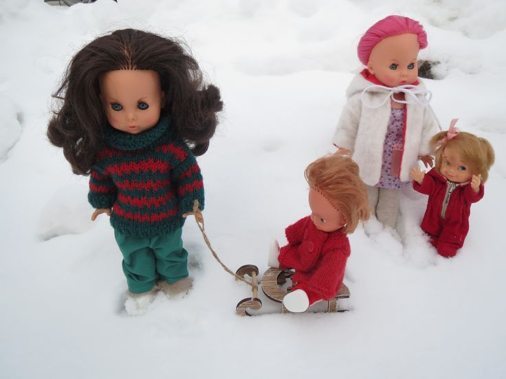 Daniah Vintage Ratti dolls from the 60s and 70s!
