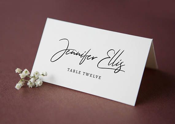 Printable Place Card Wedding Place Cards Template Place Card Template Printab Wedding Place Cards Wedding Place Card Templates Printable Place Cards Wedding