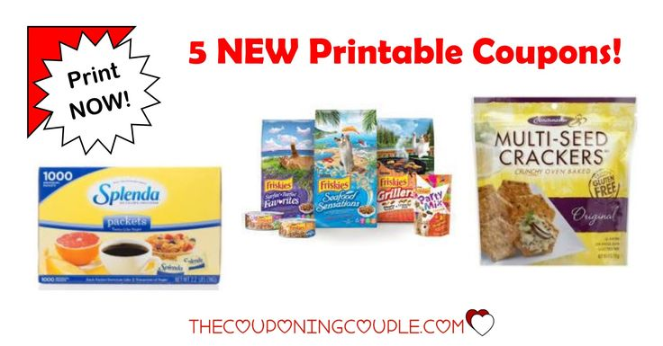 Check out the 5 New Printable Coupons that were just released this morning. Purina, Crunchmaster, Splenda and Ronzoni Pasta. PRINT NOW!  Click the link below to get all of the details ► http://www.thecouponingcouple.com/5-new-printable-coupons-8-7-17/ #Coupons #Couponing #CouponCommunity  Visit us at http://www.thecouponingcouple.com for more great posts!