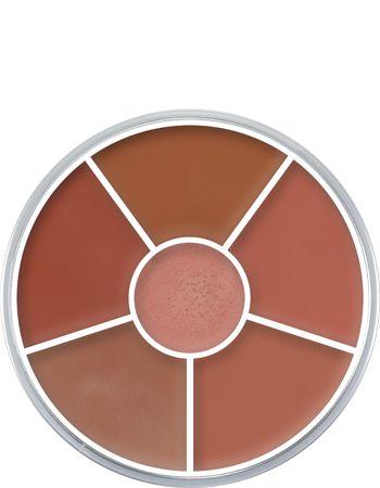 Lip Rouge Wheel. Πρακτική στρογγυλή συσκευασία με 6 χρώματα. Η δοκιμασμένη φόρμουλα των Lip Rouge είναι γνωστή για την πολύ καλή σταθερότητά της. Περιέχει βιταμίνη Ε, η οποία ενεργοποιεί το μηχανισμό επανόρθωσης της επιδερμίδας.  https://gr.kryolan.com/proion/lip-rouge-wheel