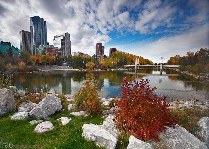 Prince's Island Park, Calgary, AB, Canada