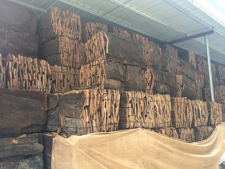 Here's how a cork factory turns the bark of cork into the a cork leather fabric.