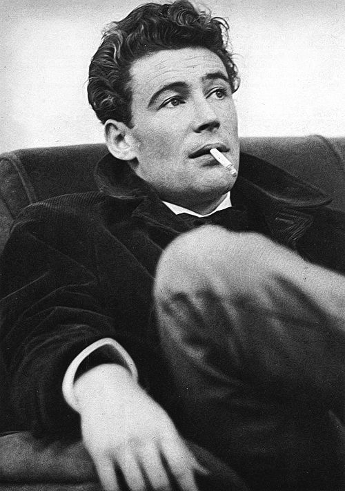 Peter O'toole. so handsome, wish guys put this effort into their hair today...hot...