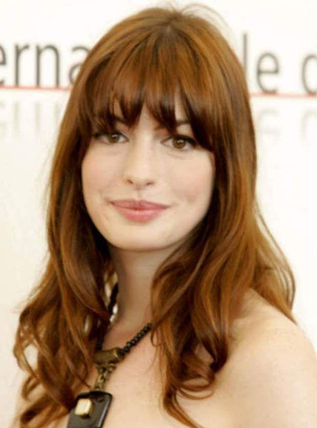 La frange longue (Anne Hathaway)