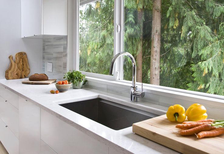Stainess Sink Cambria quartz counters