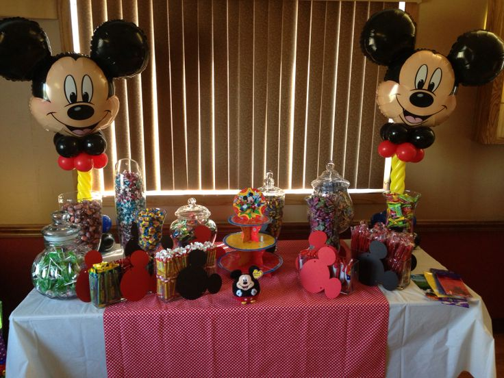 mickey mouse theme baby shower baby time pinterest