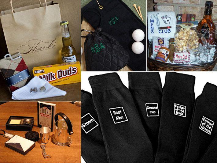 Wedding Party Gift Ideas Groomsmen: Inspiration Board: Groomsmen Gifts
