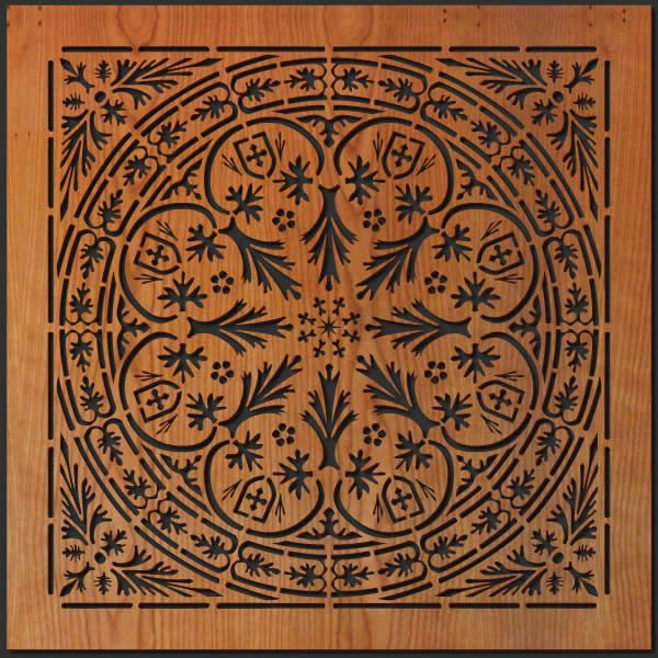 Decorative Wall Tile Art : Spanish decorative tiles thick laser cut wall art