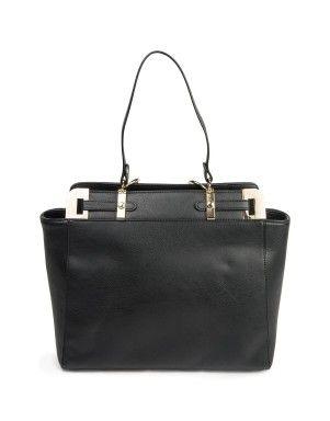 Handle Trim Tote Bag | Woolworths.co.za