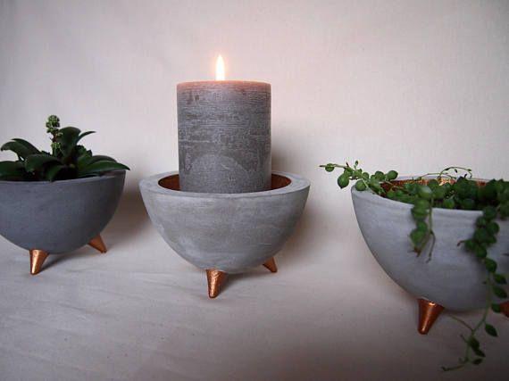 Beton Schälchen Concrete bowl