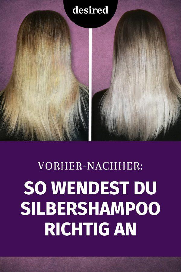 Silbershampoo und braune haare