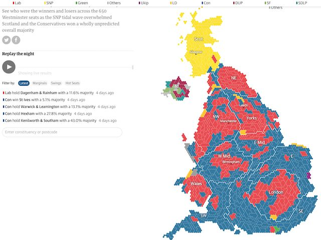 Uk 2015 General Election Results In Full Detailed Results For Every Candidate In Every Consuency