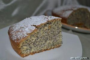 Кукурузный пирог с маком (постный)