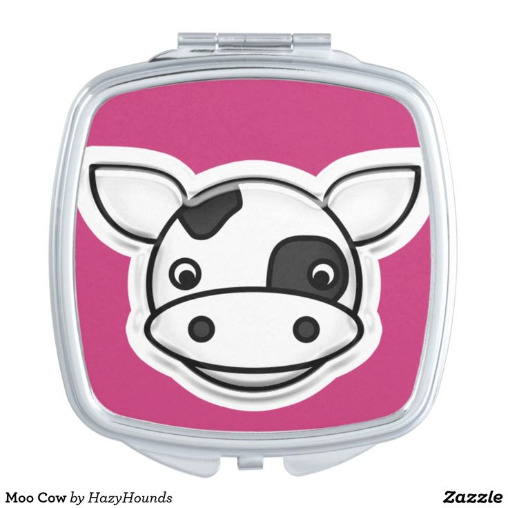 Moo Cow Makeup Mirror