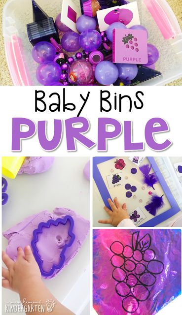 Tons of color themed activities and ideas. Weekly plan includes themed book, sensory bin, art activities, and more! These Baby Bin plans are perfect for learning with little ones between 12-24 months old.