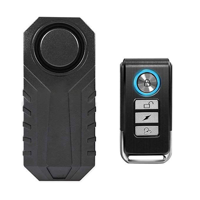 Amazon Com Wsdcam 113db Wireless Anti Theft Vibration Motorcycle