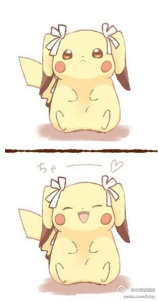 Pikachu is so adorable