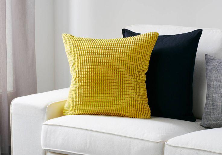 Housse de coussin texturée Ikea