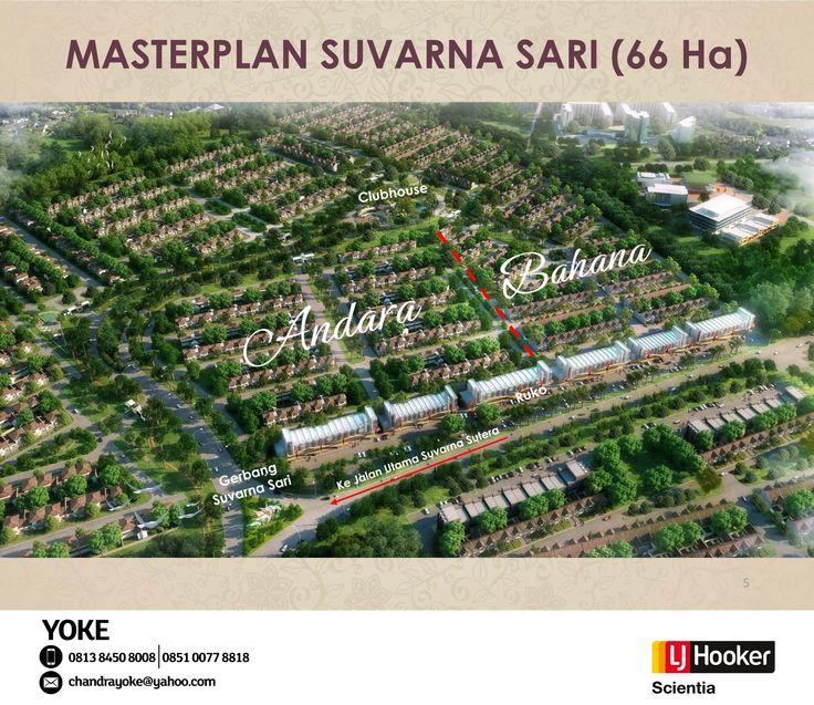 Cluster ANDARA @ Suvarna Sari, Suvarna Sutera - Alam Sutera Group