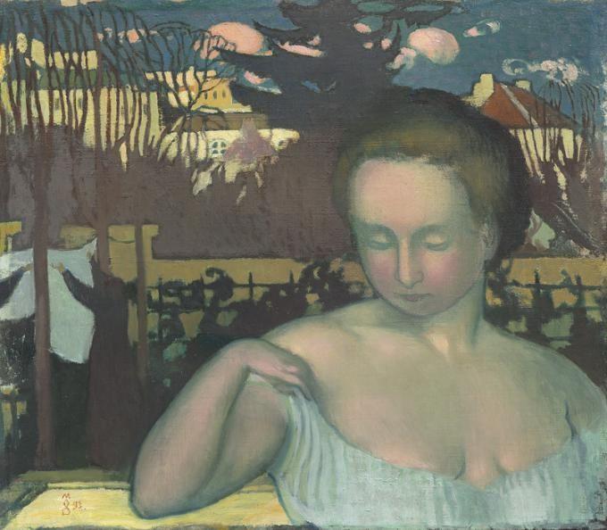 Maurice Denis - Portrait de Martha Denis, femme de l'artiste