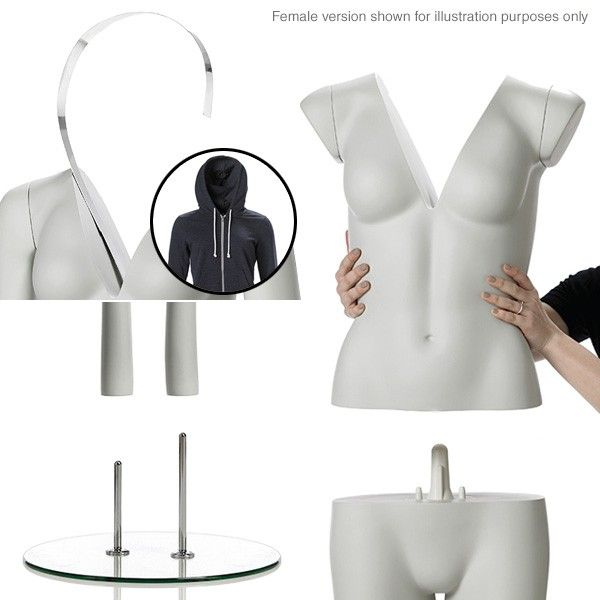 Ghost Mannequins are the invisible body forms behind many of the clothing images in the fashion industry.