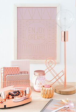 Decoratietrend Modern Copper: decoratie en shop ideeën | Maisons du Monde