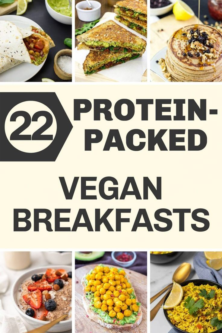 22 High Protein Vegan Breakfasts Recipe In 2020 High Protein Vegan Breakfast High Protein Vegan High Protein Vegetarian Breakfast